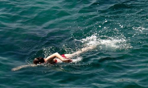 amaia nadando edit